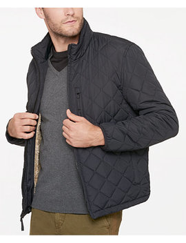 Men's Fillmore Quilted Sherpa Fleece Lined Jacket by Marc New York