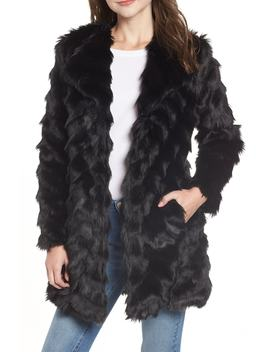 It's All Happening Faux Fur Coat by Bb Dakota