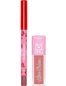 Online Only Mini Lip Kit Pink by Lime Crime