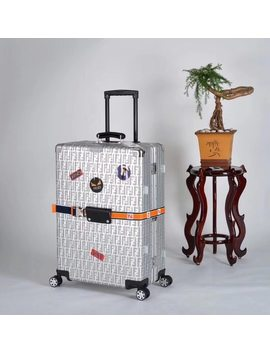 20/24/28 Inch Famous Brand Aluminum Frame Rolling Luggage Spinner Luxury Brand Travel Suitcase by Y Road Travel