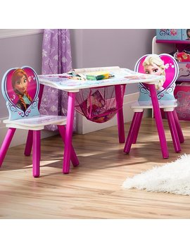 Delta Children Disney Frozen Kids 3 Piece Writing Table And Chair Set & Reviews by Delta Children