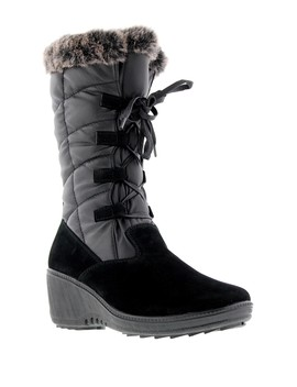 Alaska Faux Fur Lined Boot by Aquatherm By Santana Canada