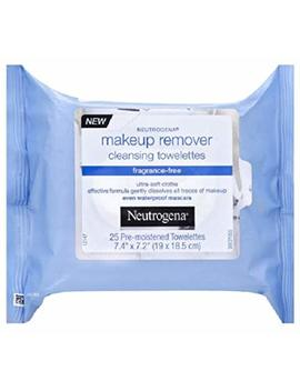 Neutrogena Makeup Remover Cleansing Towelettes, Fragrance Free, 25 Ct by Neutrogena
