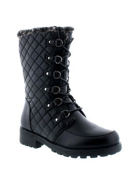 Quilted Faux Fur Lined Boot by Aquatherm By Santana Canada