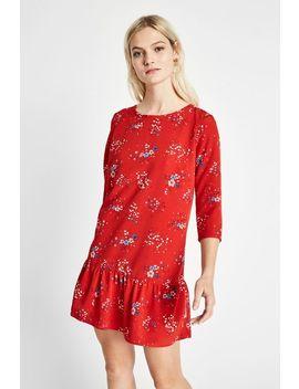 Cotterell Print Drop Waist Dress by Jack Wills