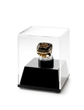 Championship Ring Display Case Acrylic Ring Box    Free Shipping by Etsy