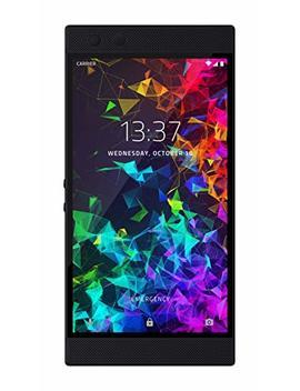 Razer Phone 2: Unlocked Gaming Smartphone – 120 Hz Display – Snapdragon 845 – Wireless Charging – Razer Chroma – 8 Gb Ram   64 Gb   Mirror Black Finish by Razer