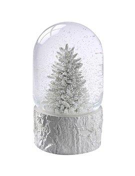 We R Christmas Christmas Tree Scene Musical Snow Globe Decoration   17 Cm, White by We R Christmas