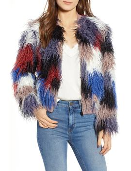 Shaggy Faux Fur Jacket by Astr The Label