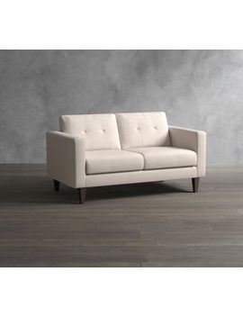 So Ma Leo Upholstered Loveseat by Pottery Barn