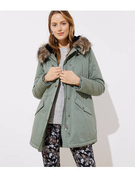 Faux Fur Lined Parka by Loft