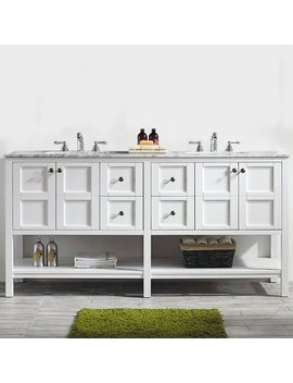 "Beachcrest Home Caldwell 72"" Double Vanity Set & Reviews by Beachcrest Home"