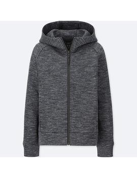 Kids Dry Stretch Sweat Zipped Hoodie by Uniqlo