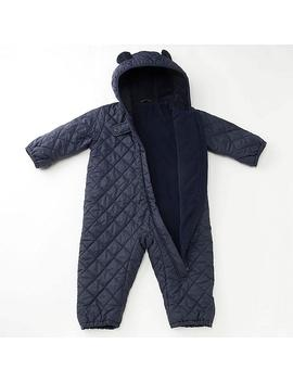 Babies Newborn Warm Padded Long Sleeved All In One by Uniqlo