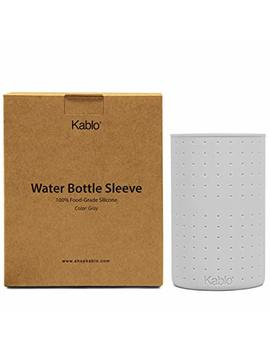 Protective Silicone Sleeve For Kablo Glass Water Bottles (32 Oz And 21 Oz), Non Toxic & Dishwasher Safe by Kablo