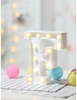 12pcs Bulb F Shaped Table Lamp by Sheinside