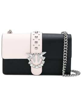 Crystal Embellished Shoulder Bag by Pinko