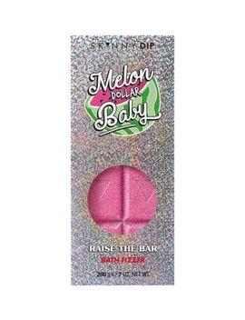 Skinnydip Melon Dollar Baby Raise The Bar Bath Fizzer by Skinny Dip