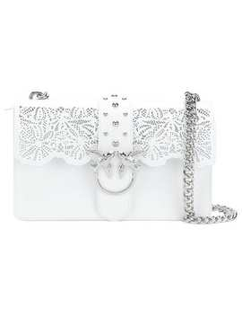 Laser Cut Shoulder Bag by Pinko