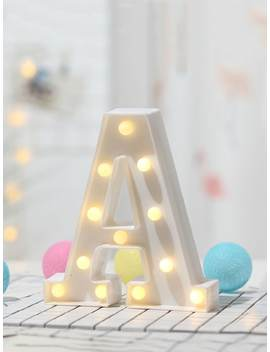 12pcs Bulb A Shaped Table Lamp by Sheinside