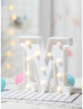 12pcs Bulb M Shaped Table Lamp by Sheinside