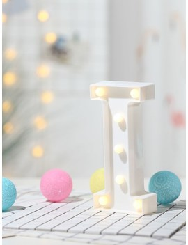 7pcs Bulb I Shaped Table Lamp by Sheinside