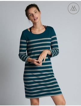 Athleisure Tenby Stripe Dress by Fat Face