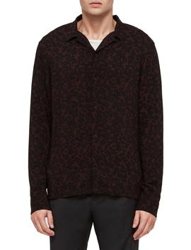 Sigfried Regular Fit Print Shirt by Allsaints