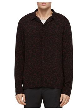 Sigfried Oversized Fit Button Down Shirt by Allsaints