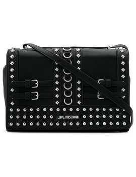 Studded Shoulder Bag by Love Moschino