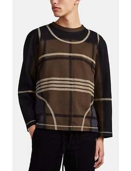Back Zip Cotton Blend Sweatshirt by Craig Green