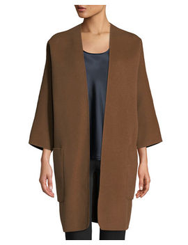 Reversible Cardigan Coat by Vince