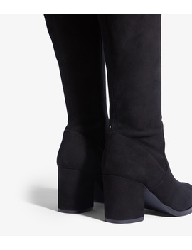 Suede Over The Knee Boot by Fd300 Dd203 Fd300 Fd165 Gd334 Dd203