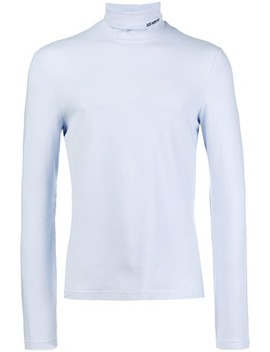 Turtle Neck Fitted Top by Calvin Klein 205 W39nyc