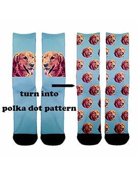 Custom Pet Socks Turn Your Dog Picture Into Custom Socks Cat Socks Unisex by Etype