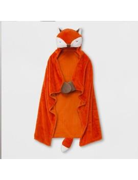 Fox Hooded Blanket   Pillowfort™ by Pillowfort