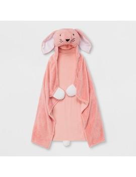 Bunny Hooded Blanket   Pillowfort™ by Pillowfort