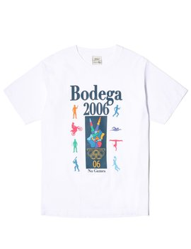 No Games Tee by Bodega
