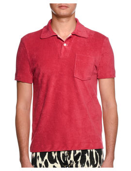 Terry Cloth Polo Shirt by Tom Ford