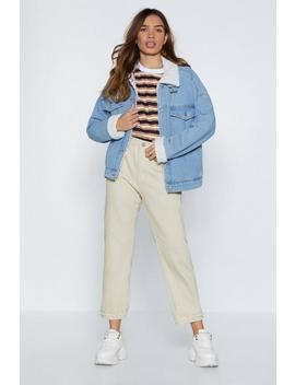 Bite The Dust Denim Jacket by Nasty Gal