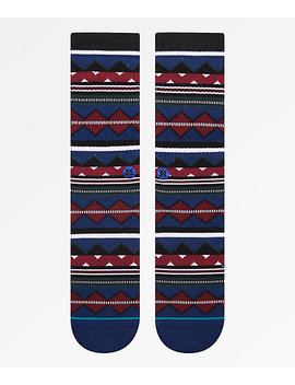 Stance Kern Blue Crew Socks by Stance