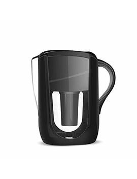 1 Alkaline Water Filter/Jug Pitcher (Black) Turns Ordinary Water Into Alkaline And Ionized Water. by 1 Alkaline
