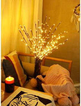 1pc Led Wrapped Lighted Branch by Sheinside
