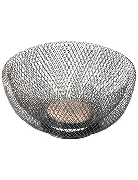 Nifty 7530 Orb Double Wall Mesh Decorative And Fruit Bowl, 3.5 Quart/10, Bronze by Nifty