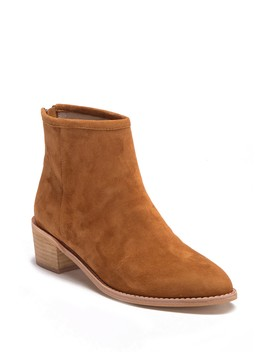 Mae Suede Ankle Bootie by Kristin Cavallari By Chinese Laundry