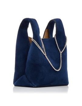 Chain Suede Mini Shopper Bag by Hayward