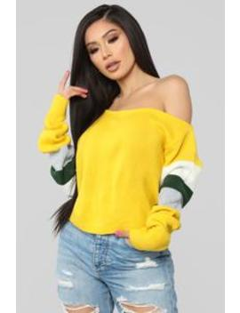 Never Enough Sweater   Mustard by Fashion Nova