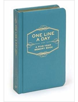 One Line A Day: A Five Year Memory Book by Chronicle Books Staff
