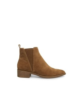 Jerry Cognac Suede by Steve Madden