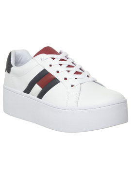 Flag Sneaker Platform Trainers by Tommy Hilfiger